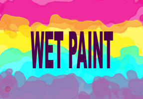 HUMOR/WET PAINT
