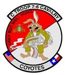 C TROOP 7-6 CAV COYOTES