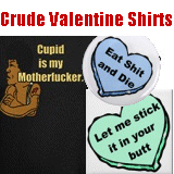 Naughty Valentine's Day Shirts