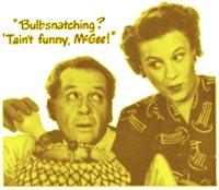 Fibber & Molly: Bulbsnatching
