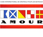 Flags: AMOUR (French)