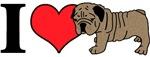 I (Heart) Bulldogs!