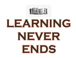 LEARNING NEVER ENDS