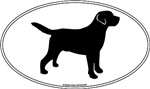 Black Lab Outline