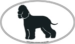 Irish Water Spaniel Silhouette