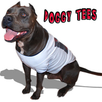 HIP DOGGY TEES FOR THE PIT BULL ONLY!
