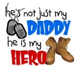 He's not just my Daddy, He is my HERO