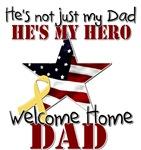 He's Not Just my Dad He's My Hero