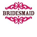 Bridesmaid (Hot Pink and Chocolate Brown)