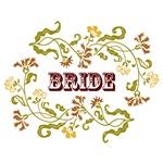 Bride: Graphic Style (Autumn Color Motif)