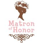 Cameo Matron of Honor (Pink & Brown)