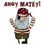 Ahoy Matey Pirate