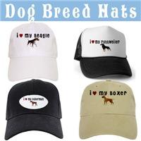 Dog Breed Caps