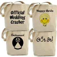 Wedding & Attendant  Totes