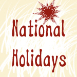 National Specific Holidays