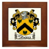Shaw Coat of Arms & More!