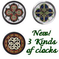 Irish & Celtic Clocks