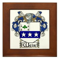 Weir Coat of Arms & More!