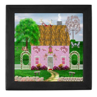Country Village Series© Keepsake Boxes (2 Colors)