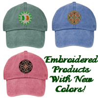New! Embroidery Products