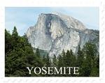 Yosemite National Park Stamp