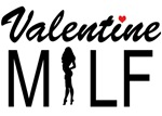 Valentine MILF with heart