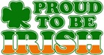 Proud to Be Irish Tricolor T-Shirts