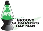 Groovy St. Patrick's Day Man T-Shirts