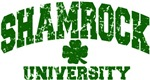 Shamrock University Distressed T-Shirts