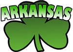 Arkansas Shamrock T-Shirts
