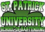 St. Patrick University School of Bartending T-Shir