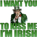 Uncle Sam I'm Irish T-Shirt
