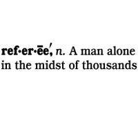 Referee Definition