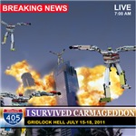 I Survived Carmageddon - Car Robots - Personaliza