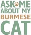 Burmese Cat Breed Merchandise
