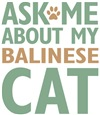 Balinese Cat Lover Gifts