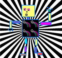 Retro Funky Robots