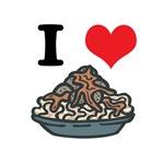 I Heart (Love) Spaghetti and Meatballs