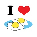 I Heart (Love) Fried Eggs