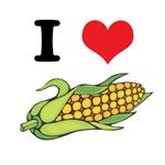 I Heart (Love) Corn (On the Cob)