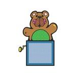 Teddy Bear Jack In the Box