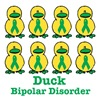 Bipolar Disorder Awareness Ribbon Ducks