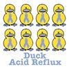 Acid Reflux Awareness Ribbon Ducks