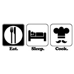 Eat. Sleep. Cook.