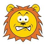 Lion Smiley Face
