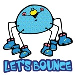 Let's Bounce Silly Cartoon Spider
