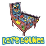 Let's Bounce Pinball Machine