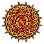 Celtic Knotwork Sun