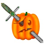 Stabbed Pumpkin Pirate
