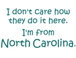 I'm From North Carolina